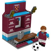 bouwpakket kleedkamer West Ham 13 x 10 cm 92-delig
