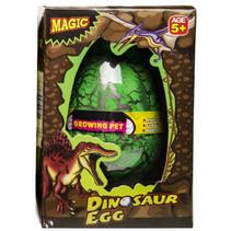 groei-ei dinosaurus 12 x 6,5 cm groen