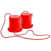 loopklossen rood 18 cm