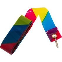 vliegerstaart Rainbow junior polyester 6 meter