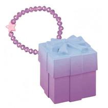 verassingsarmband Magisch doosje meisjes glas paars