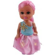 tienerpop Sparkle Girlz Winter Princess 11 cm roze