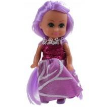 tienerpop Sparkle Girlz Winter Princess 11 cm paars