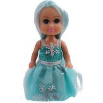 tienerpop Sparkle Girlz Winter Princess 11 cm mintgroen