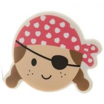 gum piraat meisjes rood