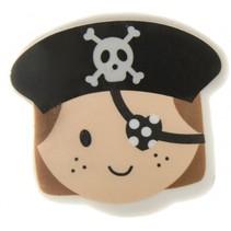 gum piraat meisjes zwart