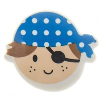 gum piraat jongens blauw
