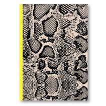 schrift Wild Thing lijn A5 14,8 x 21 cm papier geel/beige