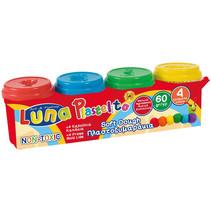 klei Play Dough junior 60 gram 4 stuks