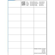 etiketten 7 x 3,7 cm papier wit 240 stuks