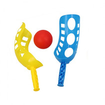 vangspel junior 24 x 8.9 x 5.8 cm blauw/geel 3-delig