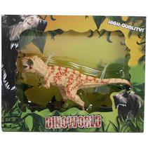 speelfiguur Tyrannosaurus 12 cm junior beige