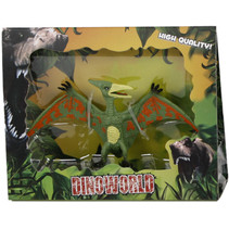 speelfiguur Pterodactylus 12 cm junior donkergroen
