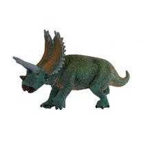 dinosaurus Triceratops jongens 23 cm rubber groen