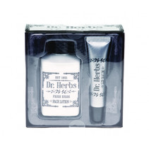gezichtsverzorging Dr. Herbs zwart/wit 2-delig