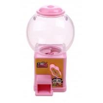 snoepmachine 10 cm roze