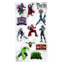stickers The Avengers jongens 10 x 21 cm foam