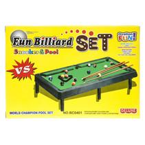 biljartspel Snooker & Pool 22,5 x 15,5 cm 6-delig