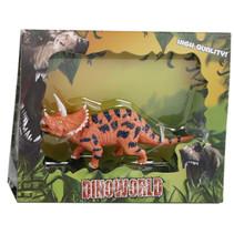 speelfiguur Triceratops 12 cm junior oranje