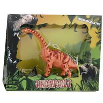 speelfiguur Brontosaurus 12 cm junior oranje