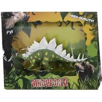 speelfiguur Stegosaurus 12 cm junior donkergroen