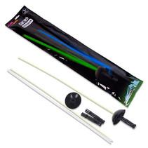 zwaard glow-in-the-dark blauw/groen 2 stuks