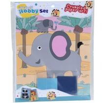 propjeskunst 23,5 x 17,5 cm olifant