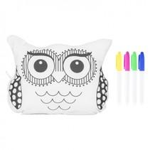 kleur je eigen Doodle Buddy Owl 5-delig