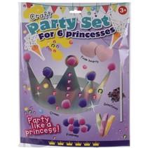 knutselset Craft Prinses meisjes zilver/roze