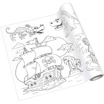 kleurplaat-rol junior 4 meter papier