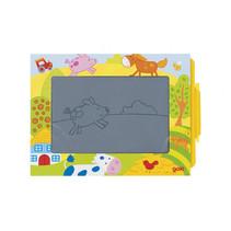 magisch tekenbord junior 19 x 13 cm karton vanaf 2 jaar