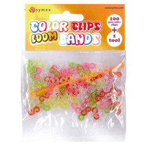 loombandjes Color Clip junior rubber 101-delig