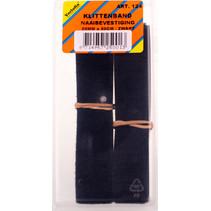 klittenband naaibevestiging 20 mm x 0,5 m zwart