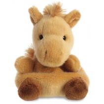 knuffel Palm Pals paard junior 13 cm pluche bruin