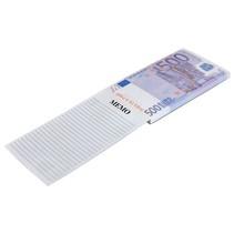 Memoblok briefgeld 500 Euro