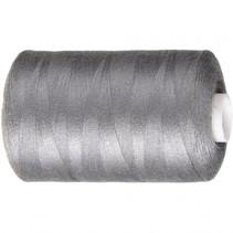naaigaren polyester grijs 1000 meter