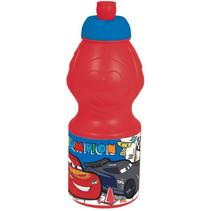 drinkfles Cars 3 junior 400 ml rood/blauw