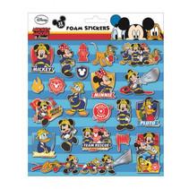 foamstickers Mickey Mouse 24 x 20,5 cm 22-delig blauw