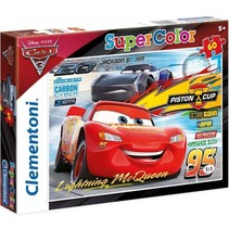 legpuzzel Cars 2 junior karton 60 stukjes