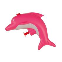 waterpistool dolfijn junior 9 x 4 x 8,5 cm roze
