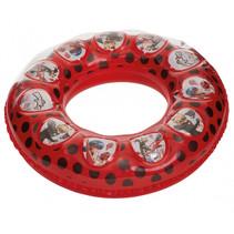 zwemband junior 100 cm rood/wit