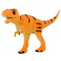 speelfiguur Dinosaurus T-Rex 15 x 6 x 10 cm oranje