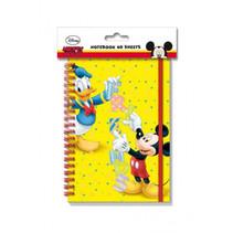 notitieboekje Mickey Mouse junior A5 papier geel
