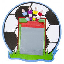 magisch tekenbord voetbal 24 x 18 cm junior rond