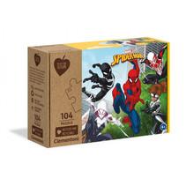 legpuzzel Marvel Spider-Man junior karton 104 stukjes