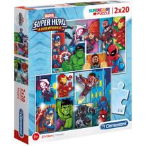 legpuzzel Adventures junior karton 40 stukjes