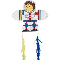 vlieger Skymate Astronaut 71 x 64 cm polyester wit/blauw