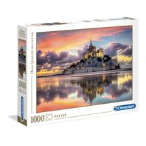 Legpuzzel Mont Saint Michel HQ 1000 stukjes