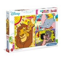 legpuzzel Disney Classic 48 stukjes 3 stuks