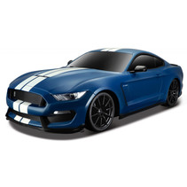 raceauto RC Ford Shelby Gt 30 x 15 cm 2,4 GHz blauw